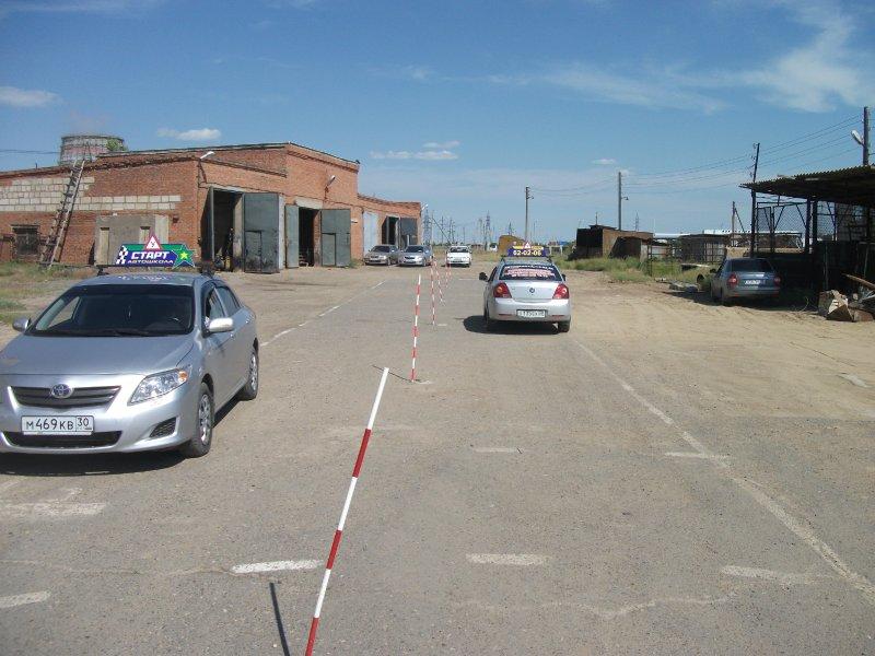 Toyota Corolla в автошколе в Астрахани