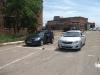 На площадке автошколы в Астрахани